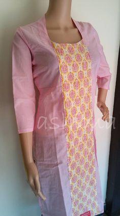2402156 Rs.790/- Size S/M/L/XL/XXL Free shipping to any courier destination in India Salwar Pattern, Kurti Patterns, Dress Patterns, Indian Attire, Indian Ethnic Wear, Kurtha Designs, Indian Kurta, Indian Fashion Trends, Bollywood Dress