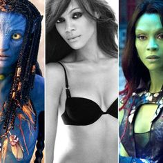 Zoe Saldana: de Avatar a Gamora en Guardianes de la Galaxia