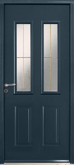 Porte d\u0027entrée pvc Metron L80cm blanc pdroit Portes Pinterest - pose d une porte d entree