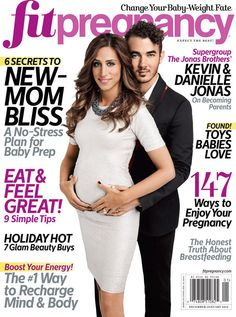 Danielle Jonas Spotlights Baby Bump With Kevin Jonas On 'Fit Pregnancy'