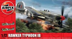 Airplane Model Kits - Airfix A02041 Hawker Typhoon Building Kit 172 Scale -- You can get more details by clicking on the image.