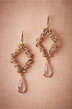 Filigreed Chandelier Earrings from @ BHLDN