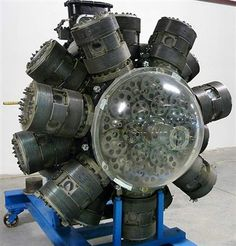 Bristol Hercules 734 Sleeve Valve Radial Engine, 1,980hp, could you imagine doing the timing on that thing?
