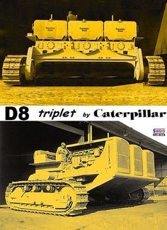 Caterpillar Triple D8 Tractor