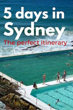 Sydney itinerary 5 days for the whole family
