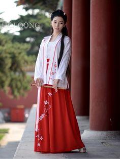 90b6d79d00 Ruqun Ru dresses BeiZi blouse Embroidered Traditional chinese clothing  Women Hanfu Blouse
