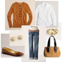 Have the earrings, shoes, shirt, jeans .... hmmmmm ... cashmere just isn't EVER in the budget