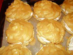 karamelové veterníčky, recept   Tortyodmamy.sk Painted Pinecones, Food And Drink, Pie, Sweets, Cheese, Desserts, Erika, Hampers, Bakken