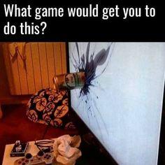 New post on we-love-gaming Video Game Memes, Video Games Funny, Funny Games, Funny Gaming Memes, Marvel Images, Most Popular Games, Love Games, Funny As Hell, Geek Humor