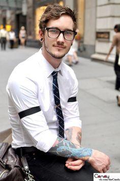 Classic sleeve garter