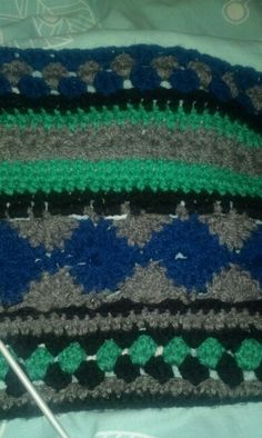 Week 7 Friendship Bracelets, Blanket, Crochet, Ganchillo, Blankets, Cover, Crocheting, Comforters, Knits