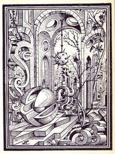 Des dessins et paysages géométriques en 1567 dessin paysage geometrique lorz 10 598x800