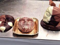 Facce di cioccolato