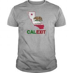 Calexit California Republic T-Shirts & Hoodies