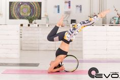 Want a super colorful Yoga Wheel to complete your yoga practice? Just search for YogaEVO on Amazon!