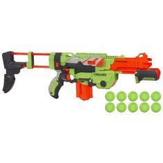 "Nerf Vortex Praxis Blaster - Hasbro - Toys ""R"" Us Alex All Nerf Guns, Pistola Nerf, Nerf Toys, Nerf War, Toys R Us, Cool Toys, Fire, Fun Time, Weapons"