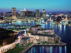 Baltimore Harbor - Baltimore, Maryland