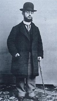 Henri de Toulouse-Lautrec, born November 24, 1864, Albi, Tarn, France. (Died 1901, Chateau Malrome, France)