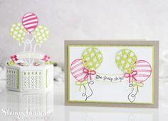 Stampin' Up! Geburtstagsparty, Stamp to Share International Blog Hop - Stampin'Up! mit stempelmami - Basteln mit Stempel & Papier