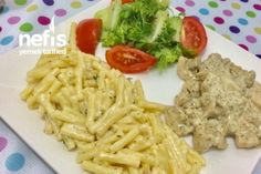 Chicken World Style Mountain Thyme Cream Chicken - Delicious Food .- Chicken World Style Mountain Thyme Cream Chicken – Yummy Recipes Italian Chicken Dishes, Cream Of Chicken, Homemade Beauty Products, Macaroni And Cheese, Pesto, Chicken Recipes, Yummy Food, Delicious Recipes, Spaghetti
