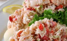 Lobster Roll and Tarragon Lobster Salad for Feast of the Seven Fishes | blogger The Hungry Goddess