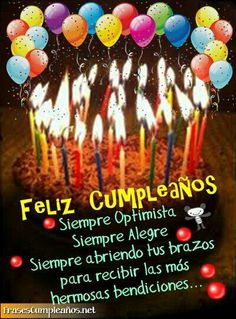 lovesadnoparty - 0 results for holiday party Happy Birthday Wishes Spanish, Happy Birthday Notes, Birthday Wishes Cake, Birthday Blessings, Happy Birthday Images, Birthday Pictures, Birthday Quotes, Birthday Greetings, It's Your Birthday