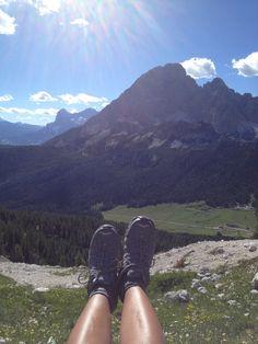 Dolomiti - my mom's feet