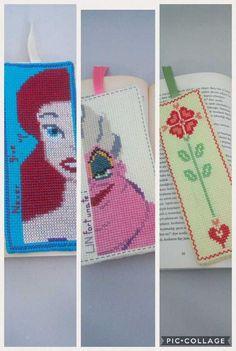 Bookmarks 3 Pack / Ariel / The Little Mermaid / Disney Princess / Ursula / The Little Mermaid / Blossom / Heart Flower / Gift