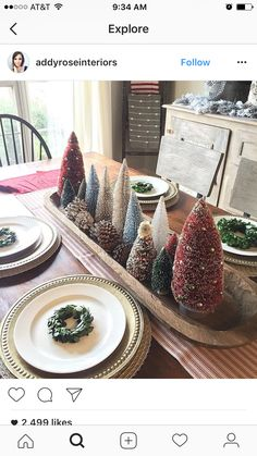 This but neutral colors - New Ideas Merry Little Christmas, Christmas Love, Country Christmas, Winter Christmas, Vintage Christmas, Primitive Christmas, Christmas Trees, Christmas Centerpieces, Xmas Decorations