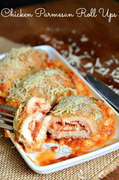 Chicken Parmesan Rol