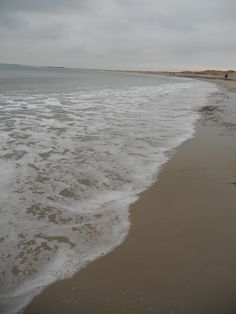 Rhode Island beach in the winter <3