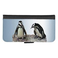 Penguin Birds iPhone 8/7 Wallet Case