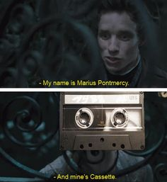 les mis jokes ahhh oh goodness   Omg. I laughed way too hard at this.