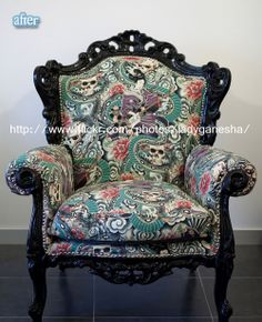 Awesome chair re-do!