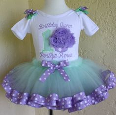 Hey, I found this really awesome Etsy listing at https://www.etsy.com/listing/196721886/baby-girls-first-birthday-7-piece-set