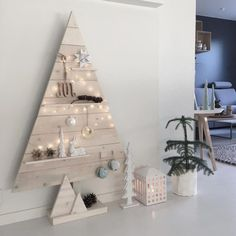 22 ways to add Scandinavian style to your holiday decor Christmas Pictures, Christmas Time, Xmas, Merry Christmas, Scandinavian Christmas, Scandinavian Style, Nordic Interior Design, Advent Candles, Alternative Christmas Tree