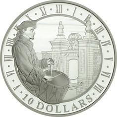 10 Dollar Silber Festung Louisbourg PP