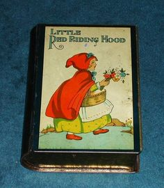 Little Red Riding Hood Tin Book
