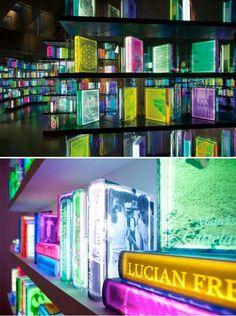 Livros de led