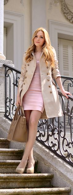 Pretty in pink - work wear - cute outfit