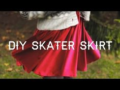 DIY CIRCLE / SKATER SKIRT