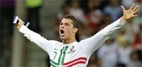 Euro Cup 2012: Persistent Ronaldo powers Portugal to the semis