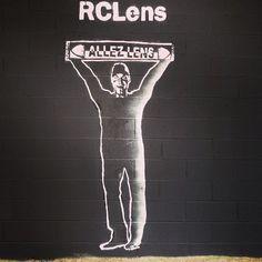 RCLens Rc Lens, Street Art, Urban, Photos, Racing, Football, Club, Instagram Posts, Movie Posters