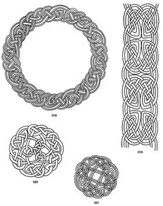 From: Celtic Designs for Artists and Craftspeople CD-ROM and Book