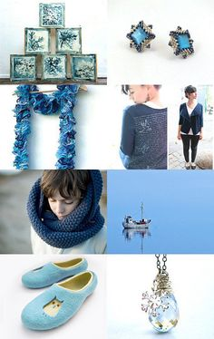 Blue Christmas gift ideas