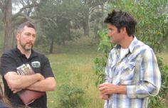 Bindi winemaker, Michael Dhillon (right)