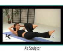 An instant tummy tamer. Sculpt your abs with these Kondi Callanetics moves! #fitness