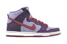 "Nike SB Dunk High Pro ""Plum"" $120"