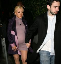 pregnant Celebrities Then And Now, Christina Aguilera, Hollywood Celebrities, American Singers, Record Producer, Dancer, Actresses, Queen, Beauty