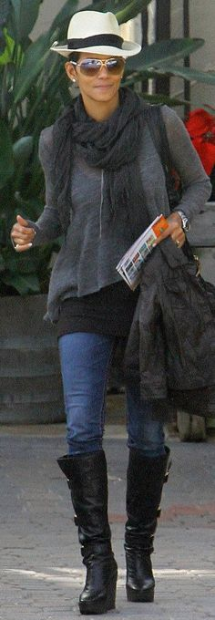 i always love her casual laid back look
